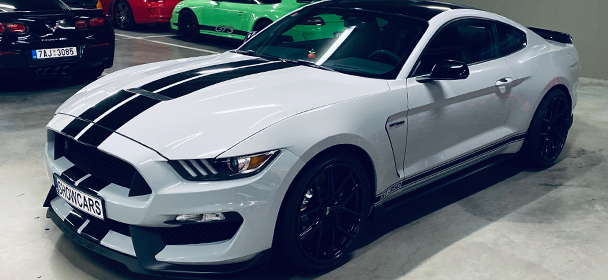 NightRUN ve voze Ford Mustang GT350 SHELBY