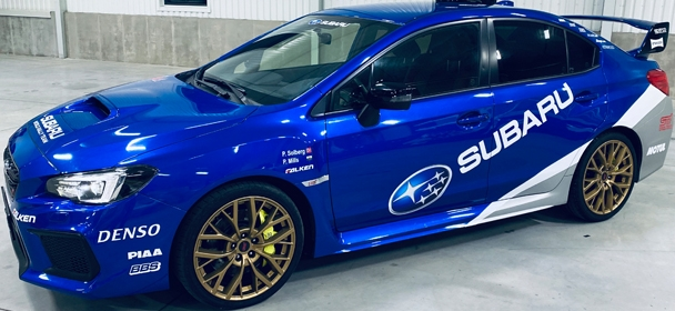 Polygon Brno Subaru Impreza