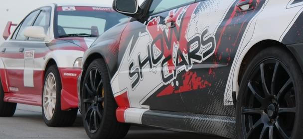 Jízda na okruhu MOST se Subaru STI a Lancer EVO
