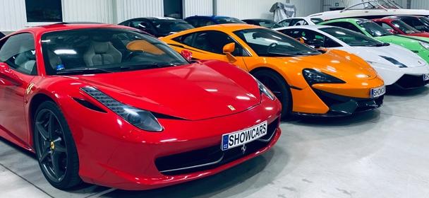 Ferrari 458 Italia, Lamborghini Gallardo, McLaren