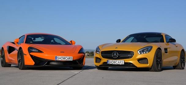 McLaren 570S vs Mercedes Benz AMG GTS