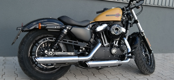 Jízda Harley Davidson